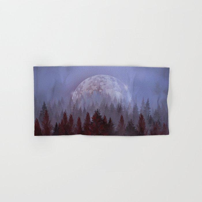 mystical forest Hand & Bath Towel