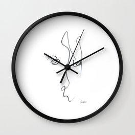 Demeter Moji d24 4-1 w Wall Clock