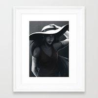 marceline Framed Art Prints featuring Marceline by Julia