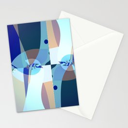Abstract Fractal Art - Quistere- Cubism- Picasso Art Stationery Cards