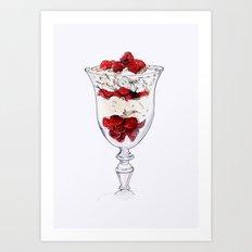 Dessert, Please Art Print