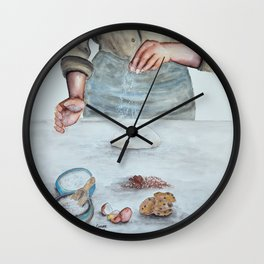 Cooking with Love Wall Clock