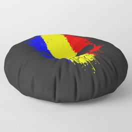 Romanian skull Floor Pillow