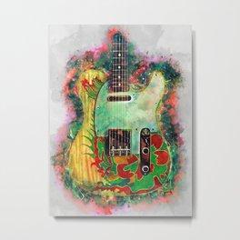 Jimmy Page's dragon guitar Metal Print