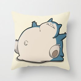 Pokémon - Number 143 Throw Pillow