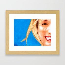 Nadia Framed Art Print