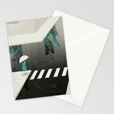 let it rain Stationery Cards