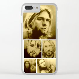 'Kurt Mosaic' Clear iPhone Case