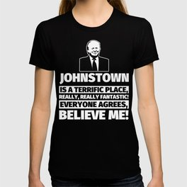 Johnstown Funny Gifts - City Humor T-shirt