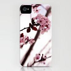 Cherry Blossoms Slim Case iPhone (4, 4s)