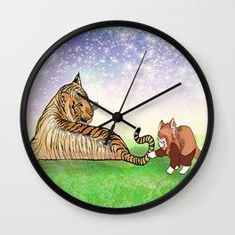 Curious Rex Wall Clock