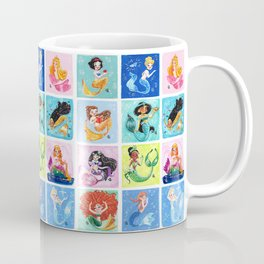 Mermaid Princesses Coffee Mug