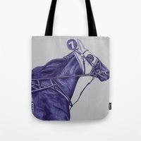 sport Tote Bags featuring Sport Horses by Tosasmok