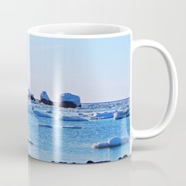 Snow Topped Boulders Coffee Mug