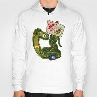 anaconda Hoodies featuring Anaconda Buns by Artistic Dyslexia