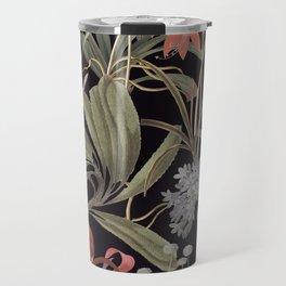 Dark Botanical Stravaganza Travel Mug