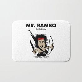Mr Rambo Bath Mat