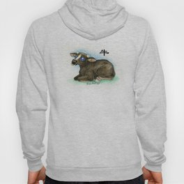 Chinese Zodiac Year of the Ox Hoody