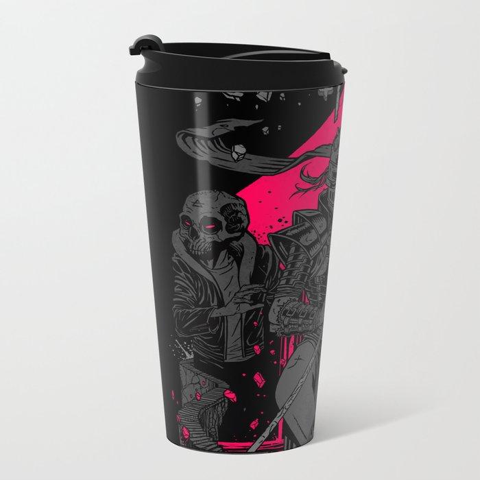 Blood, Sweat, Tears. Metal Travel Mug