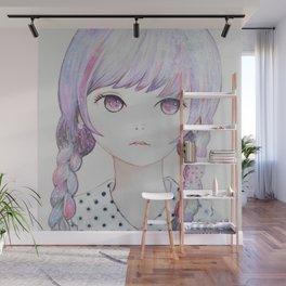 Simply Six Wall Mural