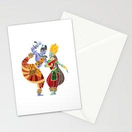 Shiva - Parvati Dance2 Stationery Cards