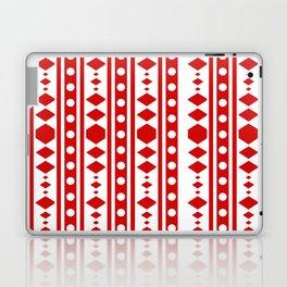 Tribal Red Pattern Laptop & iPad Skin