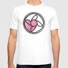 Got Love for Bikes MEDIUM White Mens Fitted Tee