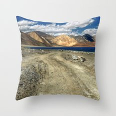 what a ride...what a feeling..! Throw Pillow