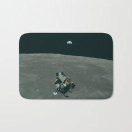 Vintage Apollo 11 Moon Mission Eagle's Ascent Bath Mat