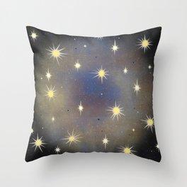 Multi-Burst Throw Pillow