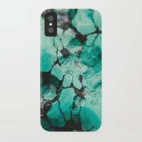 turquoise iPhone & iPod Cases featuring Turquoise  by Laura Ruth