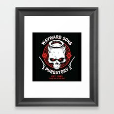 Wayward Sons Framed Art Print