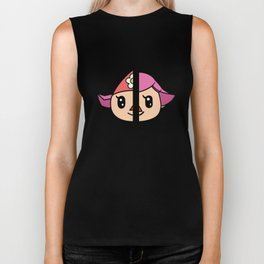 Old & New Animal Crossing Villager Female Biker Tank