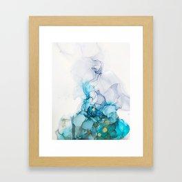 Blue Mist Framed Art Print