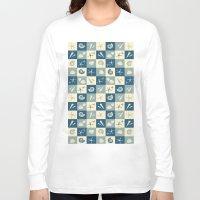 nautical Long Sleeve T-shirts featuring Nautical  by Julscela