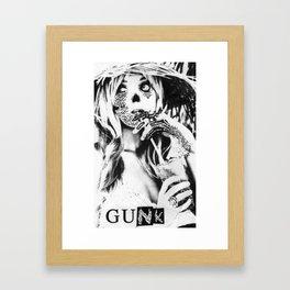 GUNK GIRL #1 Framed Art Print