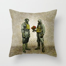 Contagious Love Throw Pillow
