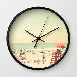 Summer of Love III Wall Clock