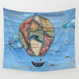 Pirate Balloon 2 Wall Tapestry