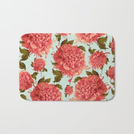 A Splash of Peony, A Dash of Color Bath Mat