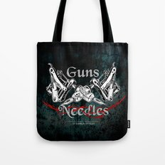 guns 'n' needles Tote Bag