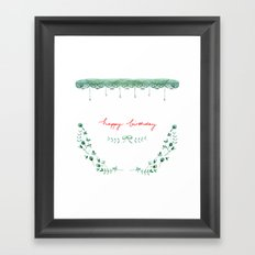 Happy Birtday_04 Framed Art Print