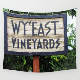 Wy'East - Sign Wall Tapestry