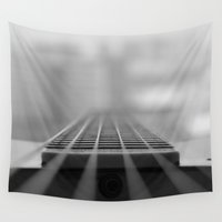 guitar Wall Tapestries featuring Guitar by CABINWONDERLAND