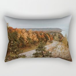 Arcadia Overlook in Fall Rectangular Pillow