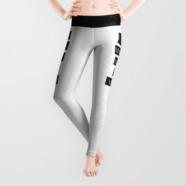 """I Just Want to be a Writer."" Typography Leggings"