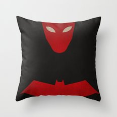 Red Hood, Jason Todd Throw Pillow