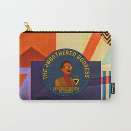 The Unbothered Goddess Carry-All Pouch