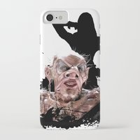 monster high iPhone & iPod Cases featuring Monster Madness: Grand High Witch  by SB Art Productions