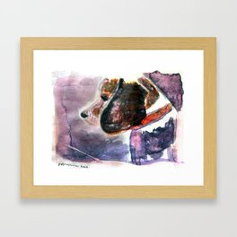 The Beaglenut Framed Art Print